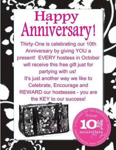 Book A Party in October!