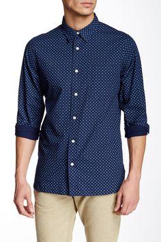 JACK SPADE - Hampton Foulard Trim Fit Shirt at Nordstrom Rack. Free Shipping on orders over $100.