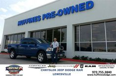 #HappyAnniversary to Jeff Norman on your 2011 #Ram #1500 from Lyon Alizna at Huffines Chrysler Jeep Dodge Ram Lewisville!