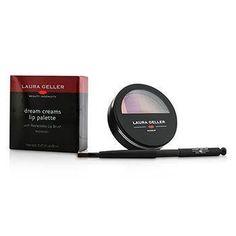 Dream Creams Lip Palette With Retractable Lip Brush - #Raspberry - 8ml-0.27oz