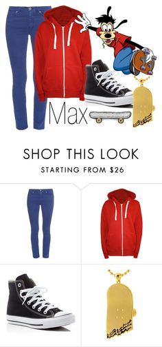 """""""Max~ DisneyBound"""" by basic-disney ❤ liked on Polyvore featuring Weekend Max Mara, WearAll, Converse, King Ice and Macon & Lesquoy"""