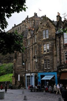 Sidewalk Cafe, Edinburgh, Scotland