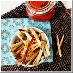 Homemade French Fries - absolutely my favorite food in the whole world - POTATOES! :)