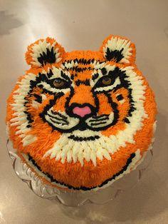 My tiger cake