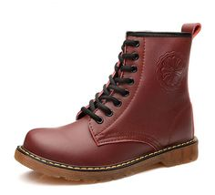 DPO Women's Leather Lace up Mid Calf Insulated Shearling Snow Boot >>> Be sure to check out this awesome product.
