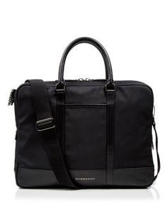 c765d3fbc6f05 Burberry London Stoke Double Zip Briefcase