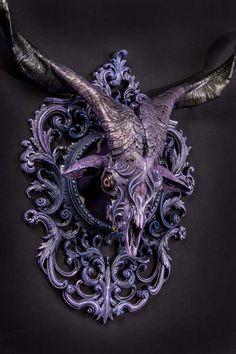 壁に掛けまくりたい。ダークファンタジーなクリーチャー彫刻 : カラパイア