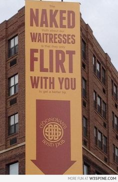 Creative Advertisement or the importance of reading between the lines ...