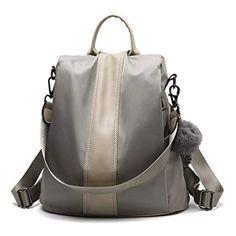 Herald Fashion Women Anti-theft Backpack Waterproof Rucksack Shoulder  School Bag  Fashion Backpacks c133dfc8edf03