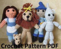 The Wonderful Wizard of Oz Crochet Pattern