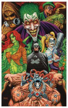 Batman: Arkham Asylum Tribute  by *FrankAKadar