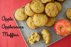 Apple Applesauce Muffins