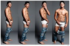 Nick Jonas for Flaunt-Move over Justin Bieber. Nick Jonas gives the singer a run for his Calvin Klein money with a new cover shoot for Flaunt magazine. Promoting his upcoming solo album, Jonas hits the studio with photographer Yu Tsai and stylist Joseph Episcopo. Channeling the rebellious energy of Mark Wahlberg's iconic Calvin Klein underwear advertisements, Jonas shows ...