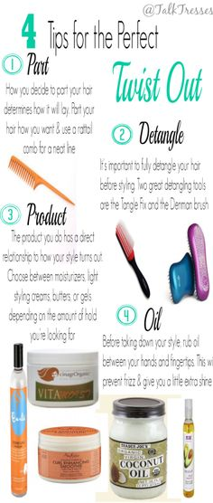 4 Tips for the Perfect Twist Out