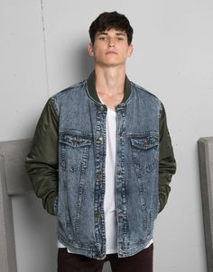 edec9aaf8 8 Best Shop: Bershka images in 2016 | Denim, Jackets, Men casual