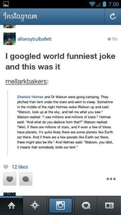 Sherlock and Watson lol