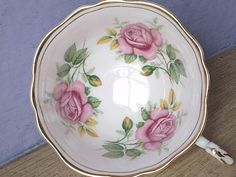Vintage Paragon English bone china pink rose tea cup teacup ONLY   Pottery & Glass, Pottery & China, China & Dinnerware   eBay!