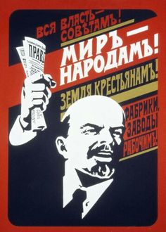 Art is a site of cultural transformation and these communist propaganda posters from the Soviet Union take you back to one of the biggest movements in history. Vladimir Lenin, Communist Propaganda, Propaganda Art, Political Posters, Political Art, Russian Constructivism, Modern Art Movements, Socialist Realism, Russian Revolution