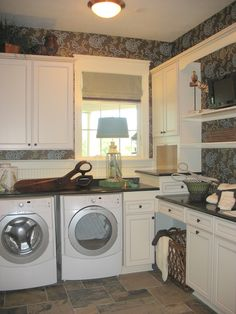 Would love a dedicated laundry room like this...