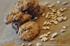 Biscotti al farro soffiato e cioccolato (Veg)