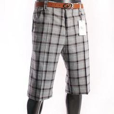 Casual Trousers Shorts Pants(F019-NONE)