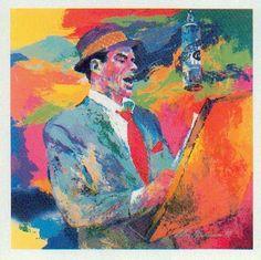 Frank Sinatra by Leroy Nieman