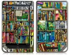 Bookshelf by Colin Thompson for the nook (Tablet/Color) $19.95. My nook needs some love!