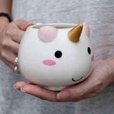 Mug Licorne the cute kawaii way to drink your hot chocolate this winter for wannabe unicorns