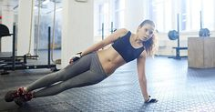 Try this fast workout that targets your core and gives you a cardio burn all at once.