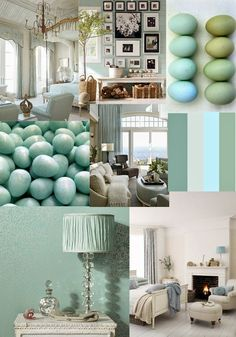 Butterfly Lane Colour Duck Egg Blue
