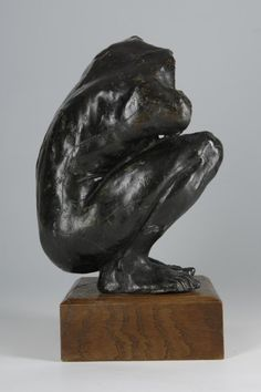 Camille Claudel, Femme accroupie (Crouching woman), c. Camille Claudel, Modern Sculpture, Abstract Sculpture, Bronze Sculpture, Lion Sculpture, Metal Sculptures, Auguste Rodin, Keith Haring Art, French Sculptor