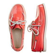 GIRLS' SPERRY TOP-SIDER® AUTHENTIC ORIGINAL PATENT BOAT SHOES