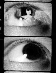 Quando l'occhio trema by Paolo Gioli, 1989