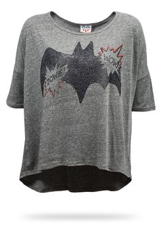 ThinkGeek :: Batman Relaxed-Fit Ladies' Tee