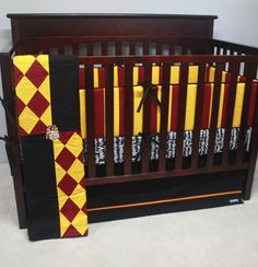Harry Potter baby bedding--Gryffindor--Banner Series-MTO