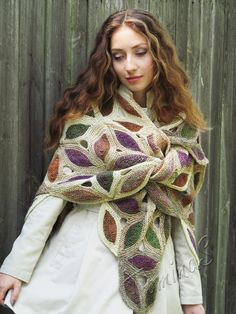 a knit and crochet community Knitted Shawls, Crochet Shawl, Knit Crochet, Shawl Patterns, Knitting Patterns, Knitting Wool, Big Knits, Knitting Accessories, Shawls And Wraps