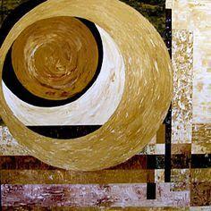 Bildergebnis für circle abstract paintings