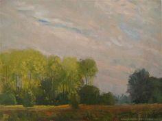 "Daily Paintworks - ""Autunmcurtain Doetinchem, The Netherlands."" - Original Fine Art for Sale - © René PleinAir"