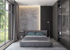 If you are going to a modern time and need some bedroom ideas, let you inspiring! See more clicking on the image. Home Room Design, Modern Bedroom Design, Master Bedroom Design, Home Decor Bedroom, Home Interior Design, Interior Architecture, Bedroom Ideas, Plafond Design, Suites