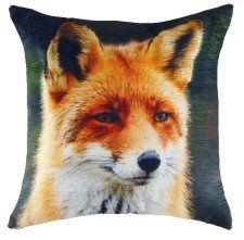 Fox Velvet Chenille Cushion
