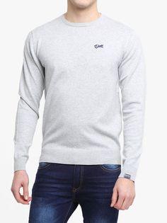 2ef6a2d2c02 Diesel Jack Sweater Pebble Melange