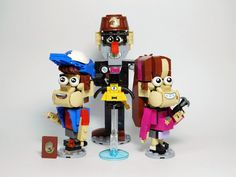 Lego Projects, Projects To Try, Cool Lego, Awesome Lego, Lego Tv, Lego Pictures, Mind Up, Lego Creations, Gravity Falls