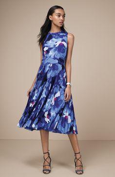 Maggy London Midi Dress & Accessories
