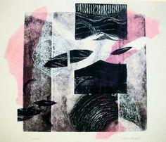 Grabado - Collage sobre impresión