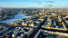 Смотровая площадка БЦ «Высоцкий» – весь Екатеринбург с высоты птичьего полета