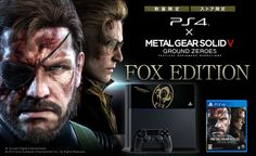 Playstation 4 is Getting a New Metal Gear Solid V: Ground Zeroes bundle!