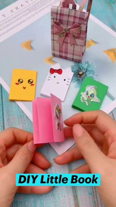 Diy Crafts For Girls, Diy Crafts To Do, Diy Crafts Hacks, Diy Arts And Crafts, Cute Crafts, Book Crafts, Easy Crafts, Paper Crafts Origami, Origami Art