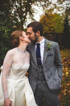 Beautiful wedding, Marios Schwab dress, also very lovely hair via lovemydress