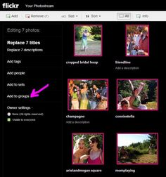 How to use Flickr to easily collect and share Guest's Wedding photographs Wedding Pins, Our Wedding, Wedding Photos, Dream Wedding, Wedding Ideas, Wedding Shit, Offbeat Bride, Wedding Planning Tips, Wedding Programs
