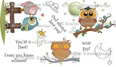 You Know Whooo! : Kraftin Kimmie Stamps